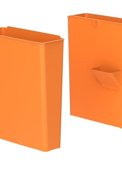 Контейнери за отпадъци в различни цветове