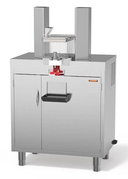 Иноксов кабинет с размери 890 (h) x 840 (l) x 530 (d) mm